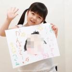 加藤柚凪 親 似顔絵