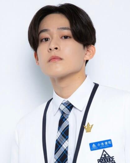 日プ2 練習生 メンバー 顔画像 小池俊司